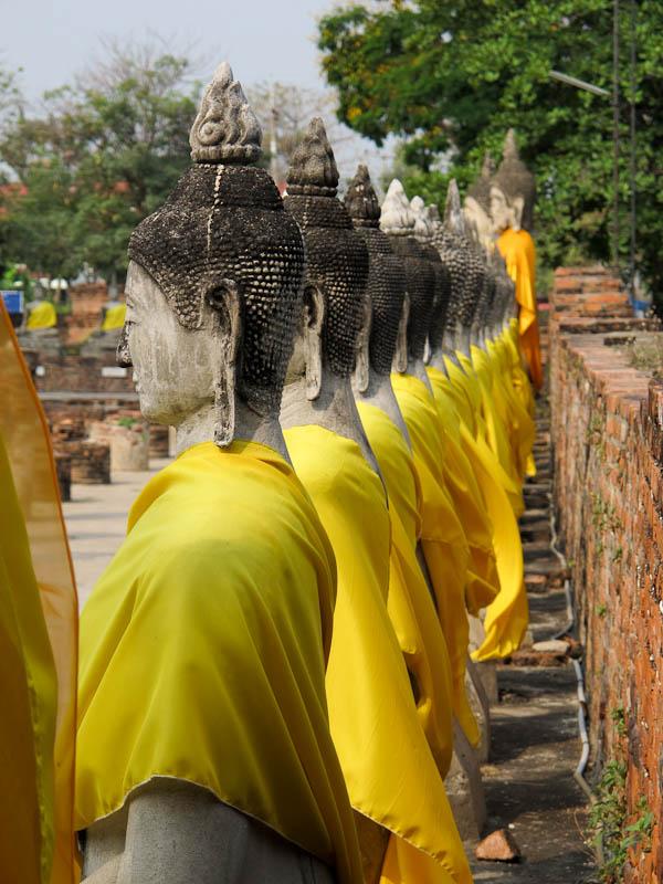 Buddhas Ayuthallah Thailand