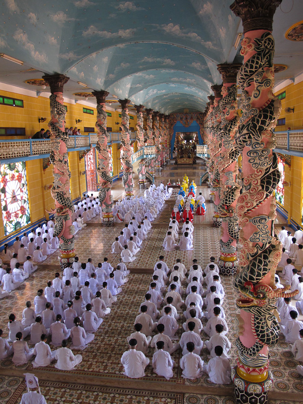 Caodist Temple, Viet Nam