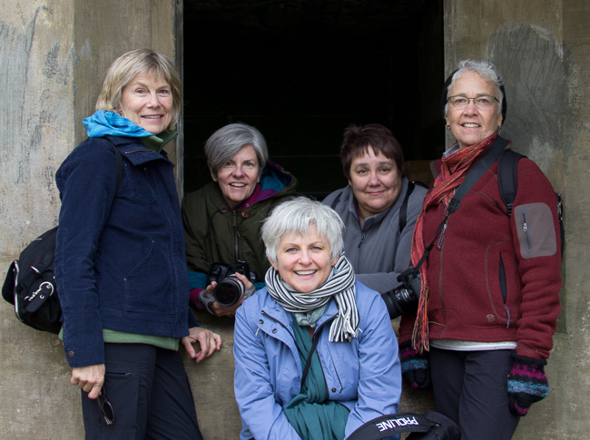 Women's Workshop – the gang (minus 1)