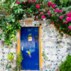 Blue Cozumel Door