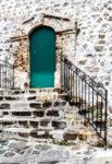 Turquoise door - Bahamas